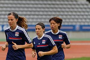 Saki Kumagai - Saki Kumagai with Lyon.