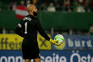 Tim Howard - Howard with the U.S. national team against Austria in 2013