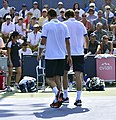 2013 US Open (Tennis) - Fabio Fognini and Albert Ramos (9661631045).jpg