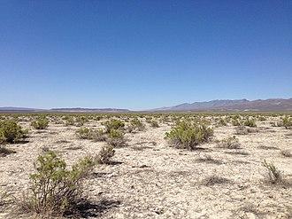 Sheldon National Wildlife Refuge - Image: 2014 07 06 15 18 34 Desert near an old windmill along Nevada State Route 140 (Adel Road) near the eastern edge of the Sheldon National Wildlife Refuge, Nevada