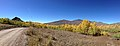 2014-10-04 13 10 18 Panorama of Aspens during autumn leaf coloration along Charleston-Jarbidge Road (Elko County Route 748) in Copper Basin about 7.3 miles north of Charleston, Nevada.jpg