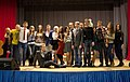 "2014. The ECU team members on the stage of MEPhI assembly hall with their show ""How I met the Deputy Dean"".jpg"