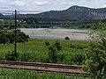 20140608 Jyouetusenn line, Saigura Bridge, Kawaguti Bridge of Kan-etsu Expressway.jpg