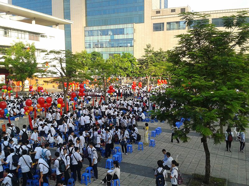 File:2014 – 2015 school year opening ceremony at Hanoi – Amsterdam High School (20140905 065058).jpg