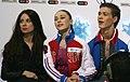 2014 ISU Junior Grand Prix Final Alla Loboda Pavel Drozd Ekaterina Volobueva IMG 1754.JPG