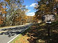 2016-10-24 12 24 51 Sign for the Ivy Creek Overlook along Shenandoah National Park's Skyline Drive on the border of Greene County, Virginia and Rockingham County, Virginia.jpg