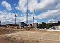 2016 Woolwich, Trinity Walk, construction site 02.jpg