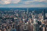 2017-08-06 Toronto, Skyline from the CN Tower (01) (freddy2001).jpg