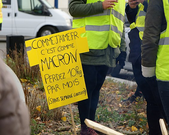 foto de Mouvement des gilets jaunes Belfort 17 Nov 2018 (2