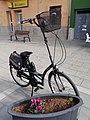 2019-12-30 Bicicleta amb la tija del manillar especialment llarga, Rafelguaraf 02.jpg