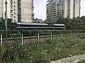 201906 DF4B-3870 hauls Freight Train near Changshadong Station.jpg