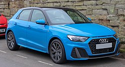 2019 Audi A1 S Line 30 TFSi 1.0 Front.jpg