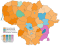 2019 Lithuanian Presidential Election 1st Round With Margins.png