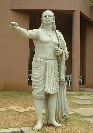 Aryabhata, mathematician and astronomer in Anc...
