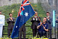 210812 - Greg Smith 2012 Flag bearer Australian Paralympic Team - 3b - ceremony photo.jpg