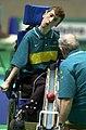 221000 - Boccia Karen Stewart action - 3b - Sydney 2000 match photo.jpg