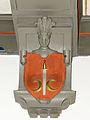250513 Heraldic cartouche in the chapel of the castle in Baranow Sandomierski - 07.jpg