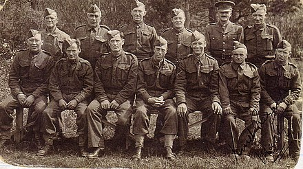 Group of soldiers from the 2nd Battalion Lancashire Fusiliers during the Second World War 2nd Lancashire Fusiliers.jpg