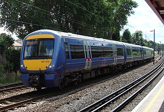 railway line in England