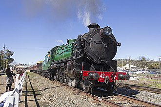 New South Wales C36 class locomotive - 3642 is the only member of the class in operational condition