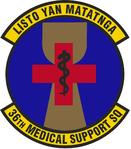 36 Medical Support Sq emblem.png