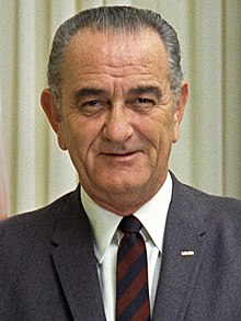Lyndon Johnson mug shot