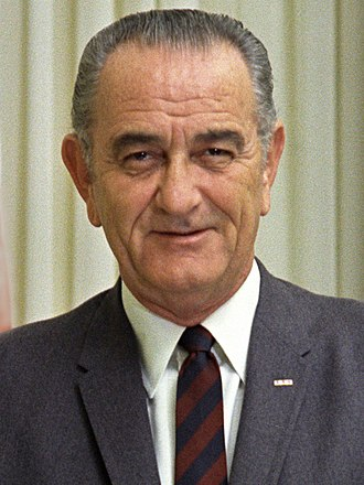 1964 Democratic National Convention - Image: 37 Lbj 2 3x 4