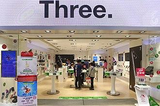 3 Hong Kong - The 3Shop in Mong Kok