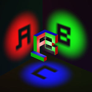 Ambigram - Image: 3d ambigram
