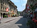 4570 - Bern - Kramgasse und Gerechtigkeitsgasse.JPG