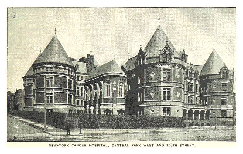 File 491 New York Cancer Hospital Central Park West And