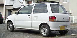 4th generation Daihatsu Mira rear.jpg