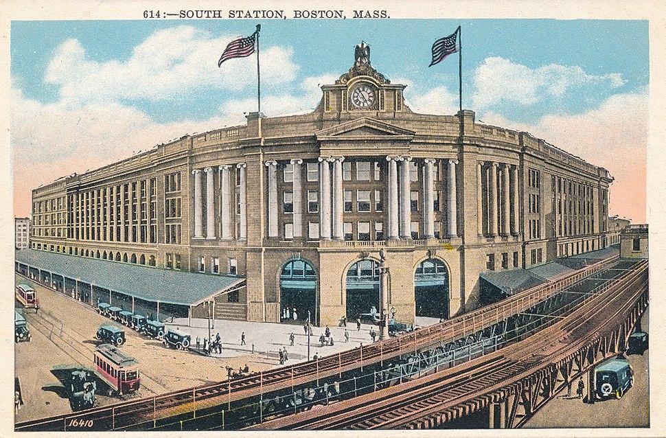 614 - South Station, Boston, Mass