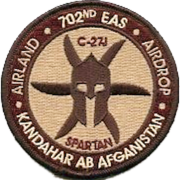 702d Expeditionary Airlift Squadron - Emblem