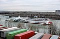88c246 Belle of Louisville in tow of Michelle McBride at upper end of Portland Canal (28668042351).jpg
