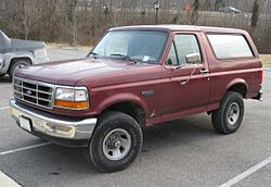 Ford Bronco (1992–1996)