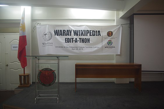 9th Waray Wikipedia Edit-a-thon 25.JPG