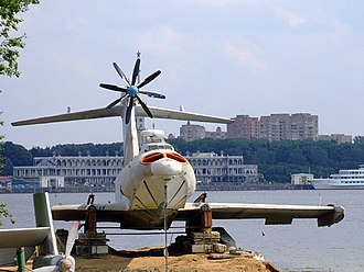 Ground-effect vehicle - Ekranoplan A-90 Orlyonok