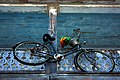 A326, bicycle on balcony, Key West, Florida, USA, 2010.JPG