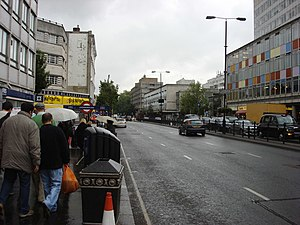 Notting Hill Gate - A40, Notting Hill Gate