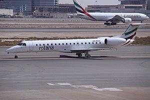 Rotana Jet - Rotana Jet Embraer 145 at Dubai International Airport