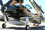 AE-1 Skyraider - Chino Airshow 2014 (15102354059).jpg