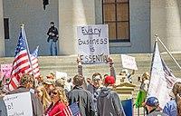 Ohio protestocuları, 20 Nisan