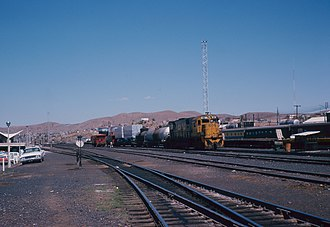 Ferrocarril del Pacífico - Image: AL Co C628 on a short freight (9041531427)