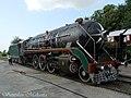 A CLW built WP locomotive now used in steam charter runs - Flickr - Dr. Santulan Mahanta.jpg