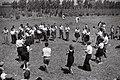 A FOLK DANCE TROUPE PERFORMING IN KIBBUTZ DALIA. להקת מחול מופיעה בקיבוץ דליה.D827-022.jpg