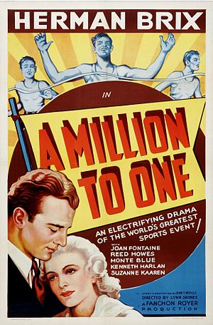 A Million to One (film) - Theatrical release poster