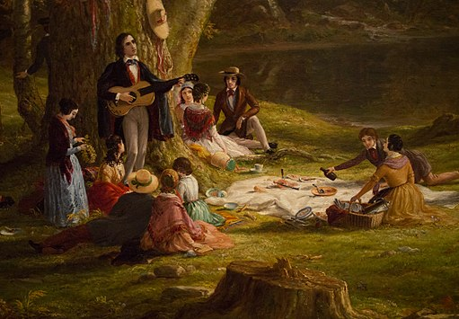 A Pic-Nic Party (detail) at the Brooklyn Museum (80742)
