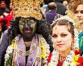 A Radha Krishna couple at the Festival of Chariots 2013 in London.jpg