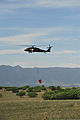 A U.S. Army UH-60 Black Hawk helicopter assigned to the Colorado Army National Guard provides firefighting assistance for the Black Forest Fire in El Paso County, Colo., June 12, 2013 130612-Z-WF656-003.jpg
